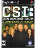 CSI - 3 Dimensions of Murder (US Import) (PS2)