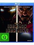 Iron Man / Iron Man 2 (BLU-RAY) (NEU)