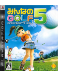 Minna no Golf Everybody's Golf 5 (Japan Import) (PS3)