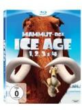 Mammut-Box - Ice Age 1,2,3, 4 (BLU-RAY)